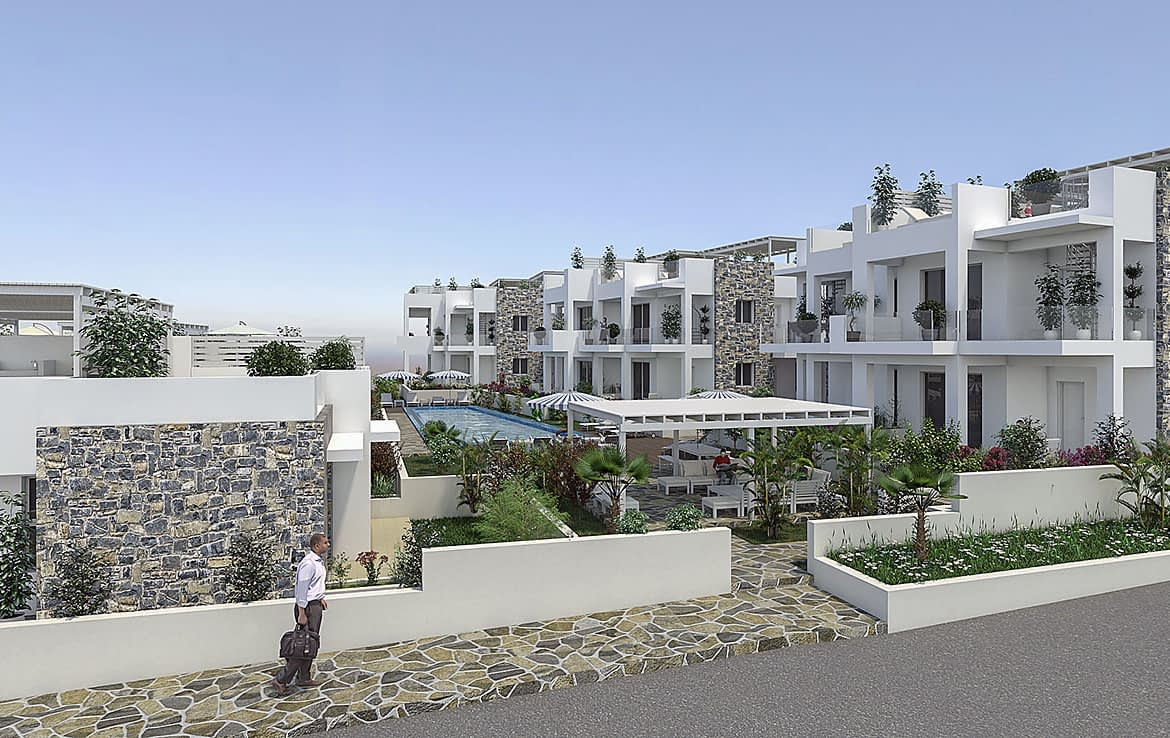 2 Bedroomed Penthouse Analipsis