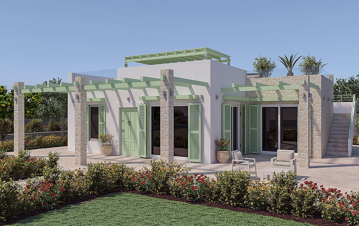 New Detached Villas with land