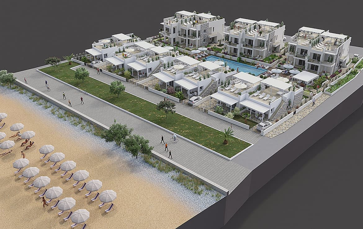 3 Bedroomed Penthouse Analipsis